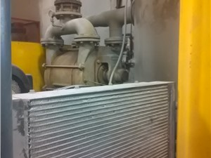 75 HP Siemens Liquid Ring Vacuum Pump