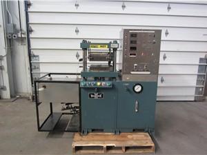 30 Ton Wabash Heated Press, Model 30-12-3TMX