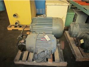 40 HP Dayton Motor Model:37N740A, 1775 RPM 230/460 Volt.