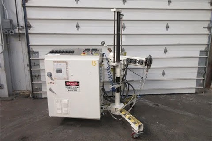 """used 3/4"""" air cooled extruder"""