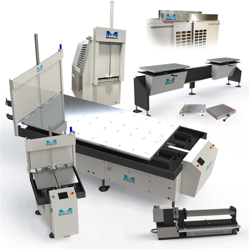 Multiple Midaco machining automation products