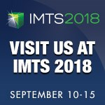 Logo forr IMTS 2018 Showing date of show Sept 10-15