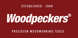 Woodpecker Tools logos