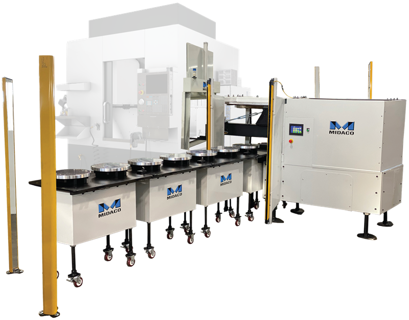 Midaco Automatic Pallet Changer for 5-Axis mill