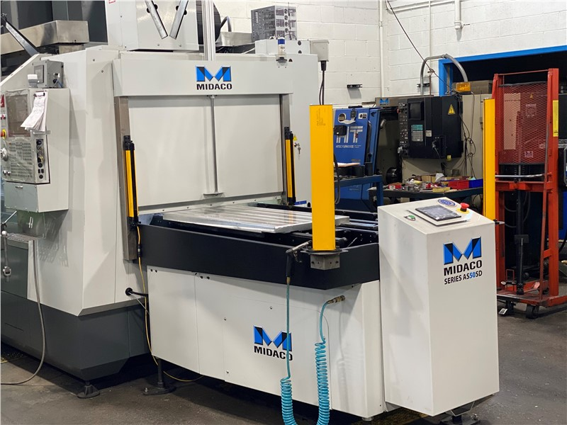 Midaco Automatic Pallet Changer with CE Light Curtain
