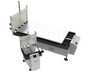Midaco large and small pallet changer systems