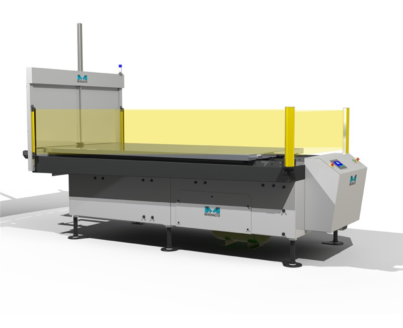 Midaco Single Dual Pallet Changer with CE Light