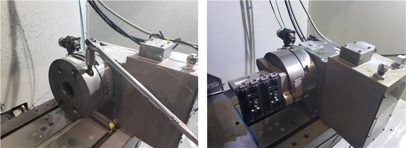 Midaco Manual Rotary Pallet Changer on Rotary Indexer
