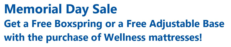 Wellness Mattress Sale