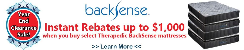 Therapedic BackSense Event