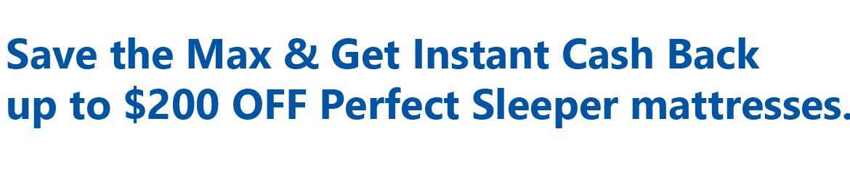 Serta Perfect Sleeper Event