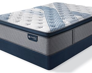 Serta iComfort Hybrid Blue Fusion 4000 Plush Pillow Top Mattress