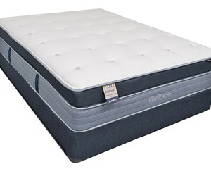 Wellness Tranquil Garden Hybrid Coil on Coil Mattress