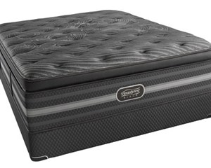 CLOSE OUT - STOCK CLEARANCE!  Beautyrest Black Natasha Plush Pillow Top Mattress