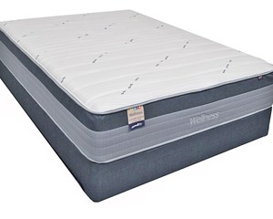 Wellness Cascade Hybrid Plush Mattress
