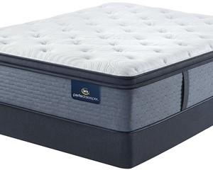 Serta Perfect Sleeper Brush Springs Firm Pillow Top Mattress