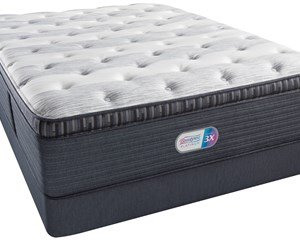 Beautyrest Platinum Clover Spring Luxury Firm Pillow Top Mattress