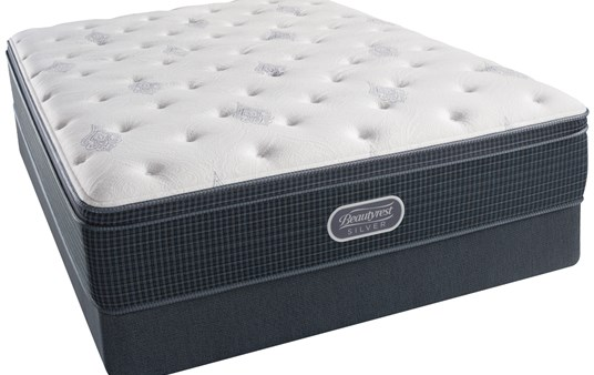 Beautyrest Silver Pacific Heights Euro Pillowtop Mattress