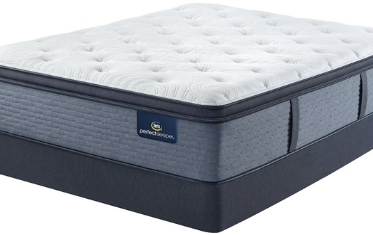 Serta Perfect Sleeper Brush Springs Plush Pillow Top Mattress