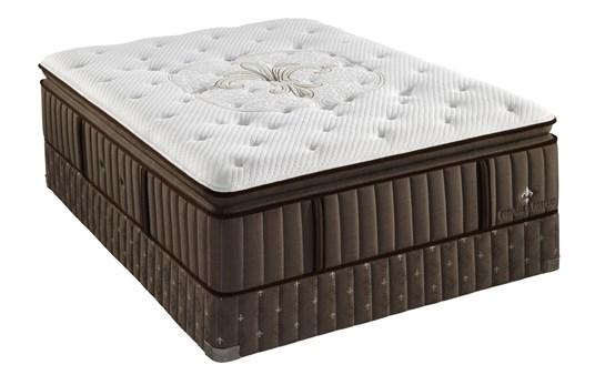 Stearns & Foster Niki Luxury Cushion Firm Euro Pillow Top