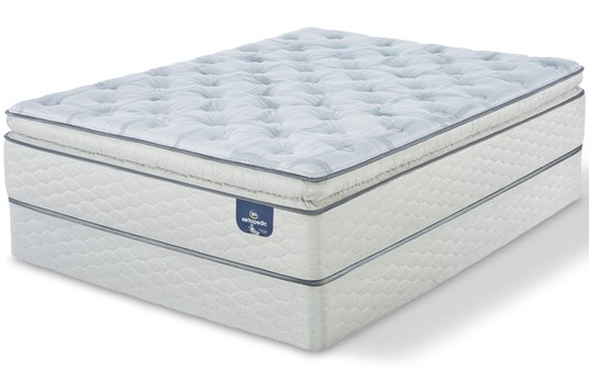 CLOSE OUT - STOCK CLEARANCE!  Serta Sertapedic Carterson Plush Pillow Top