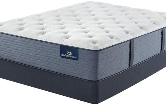 Serta Perfect Sleeper Navy Falls Plush Mattress