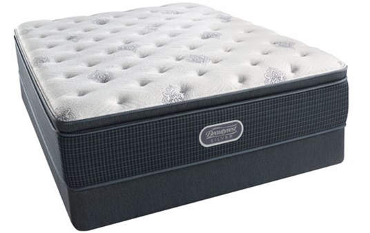 Beautyrest Silver Pacific Heights Plush Pillowtop Mattress