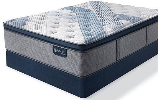 Serta iComfort Hybrid Blue Fusion 5000 Cushion Firm Pillow Top
