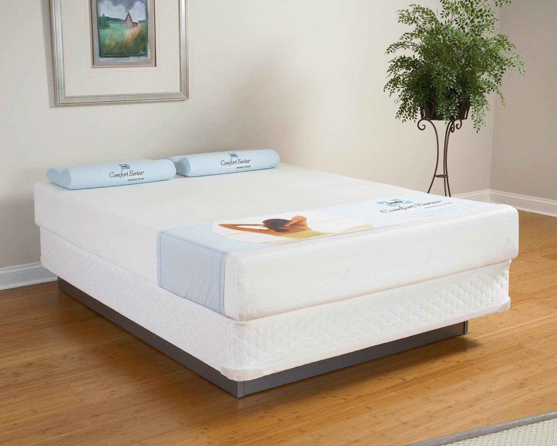 Sealy Comfort Series Memory Foam 10 Cedar Point Mattresses