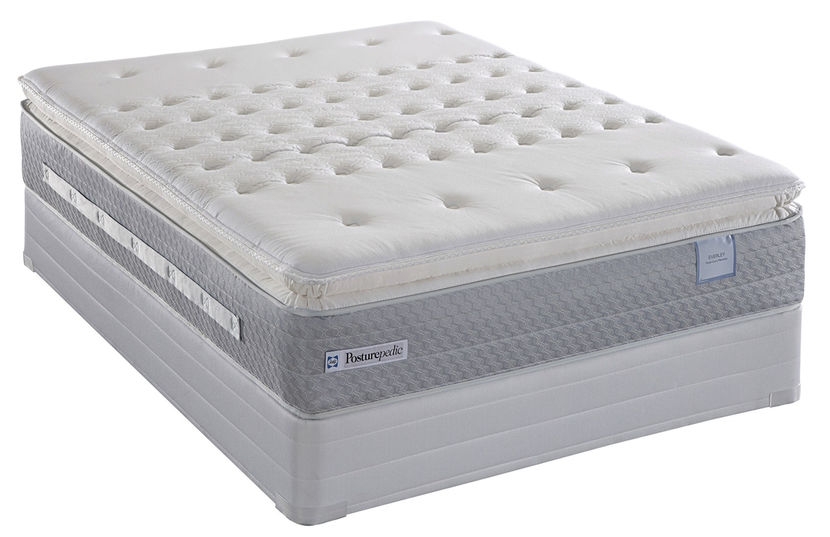 Sealy posturepedic titanium ss plush super pillow top for Which mattress company is the best