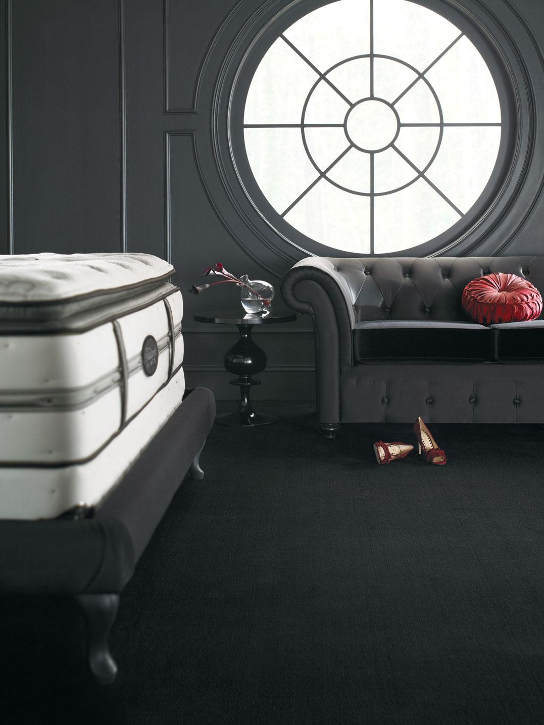 x simmons beautyrest black perla pillow top
