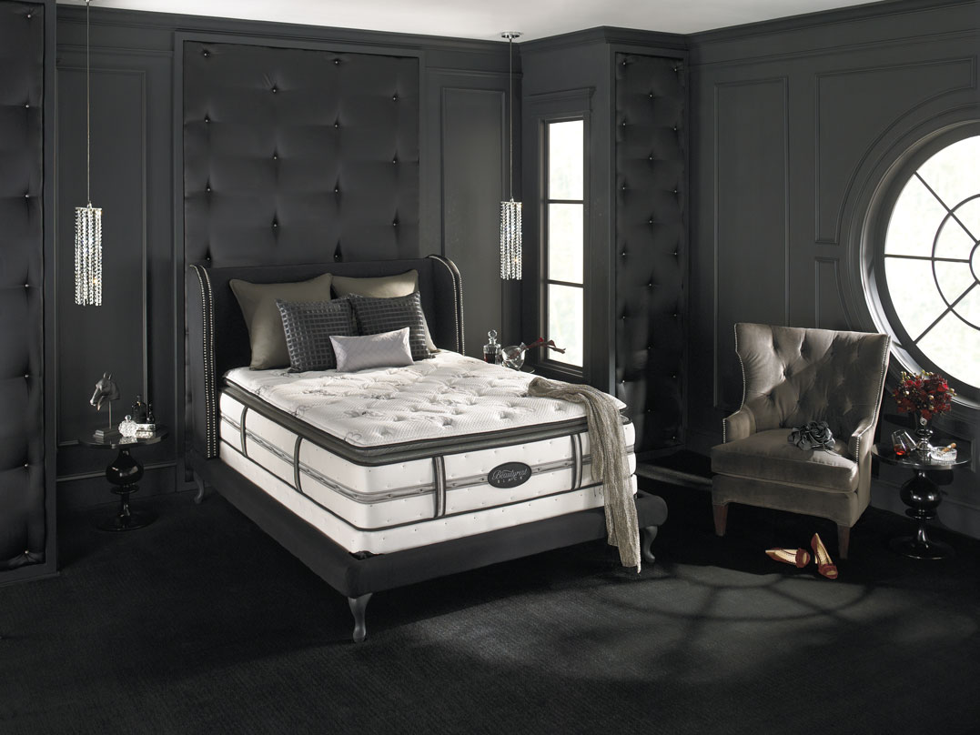 Simmons Beautyrest Black Desiree Plush Firm Mattresses