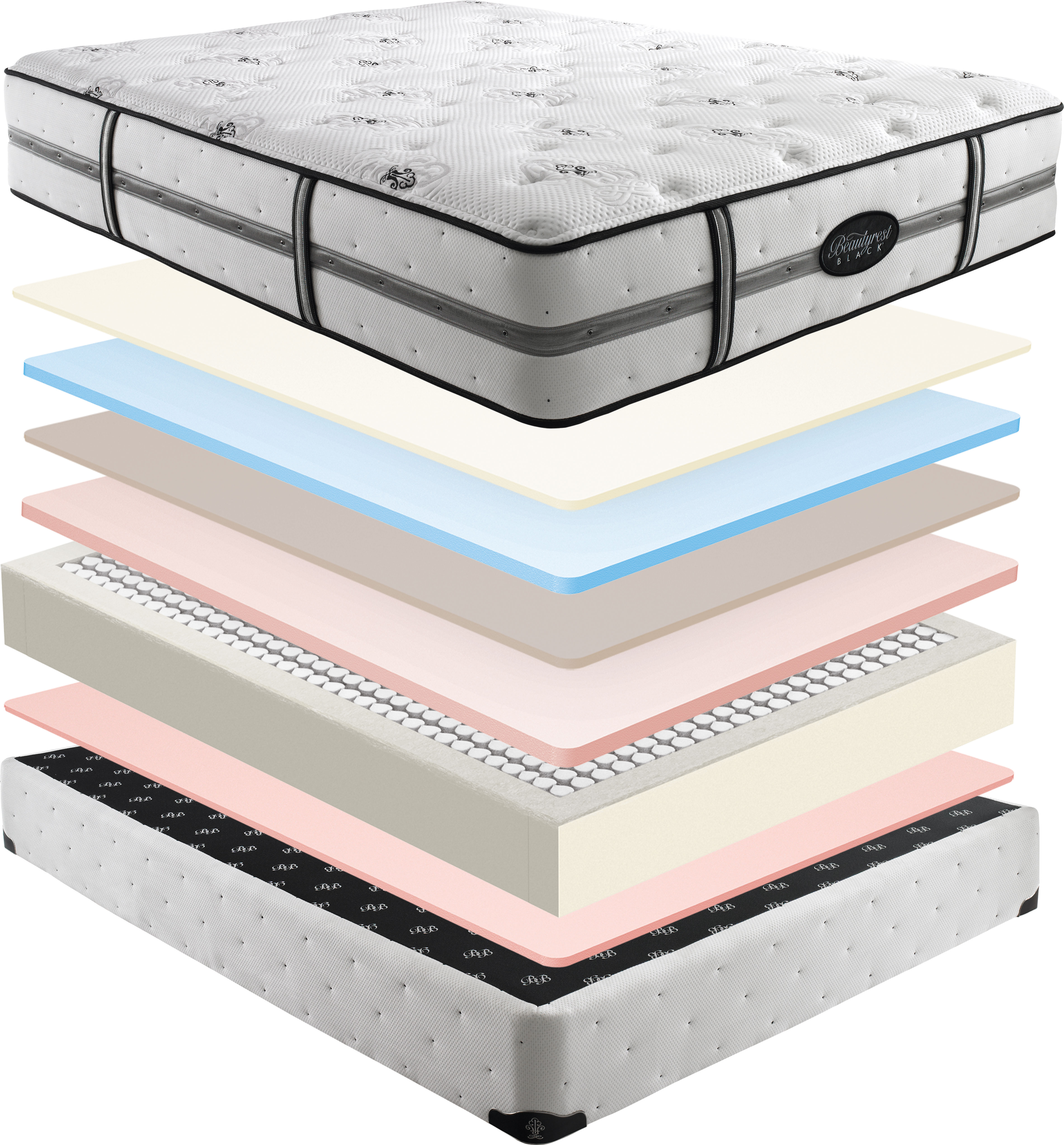 Simmons Beautyrest Black Desiree Plush Firm Mattresses