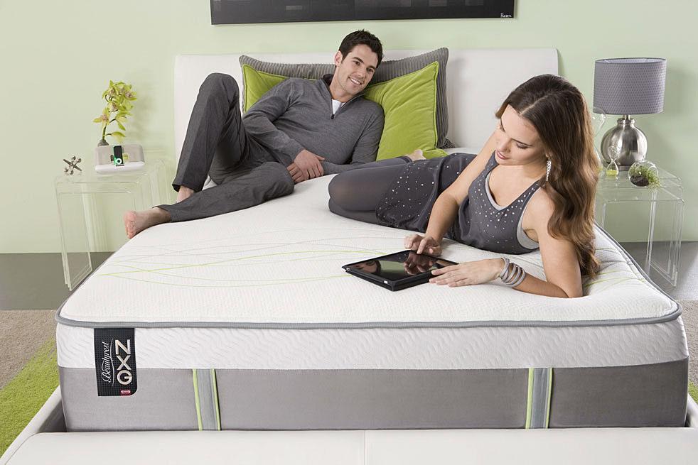 Simmons Beautyrest NXG 400 Plush Pillow Top Mattress