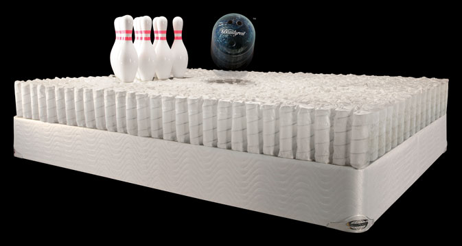 Simmons Beautyrest Plush With Memory Foam Mattress