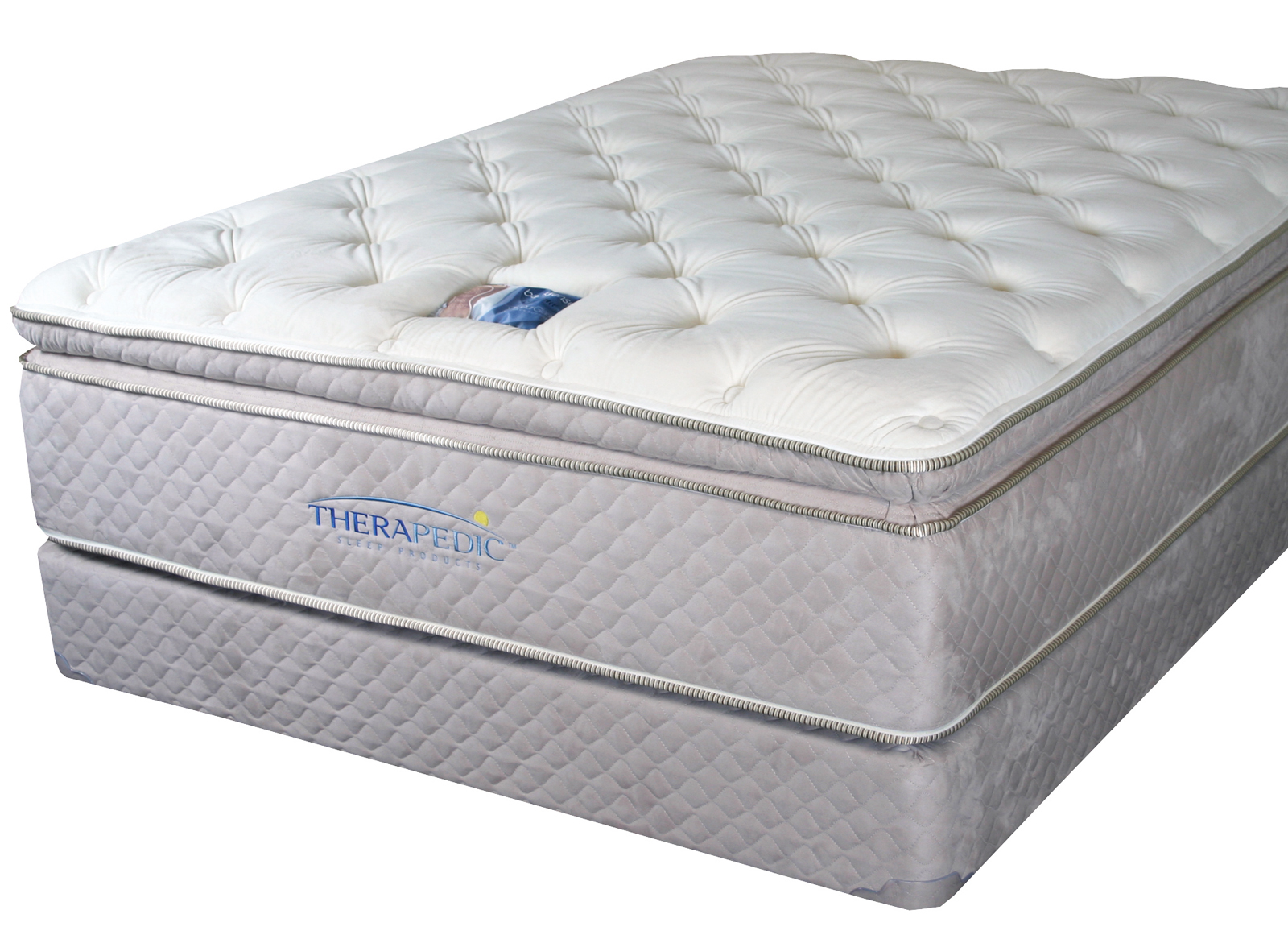 pillow top mattress. X - Therapedic BackSense Elite Plush Pillow Top Mattress