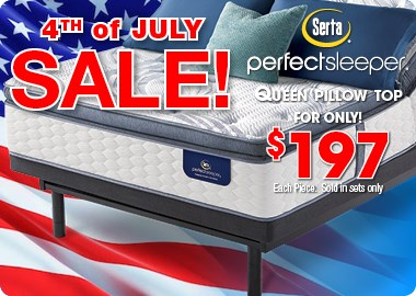 4th of July Sale Ad