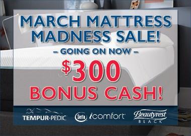 March Mattress Madness